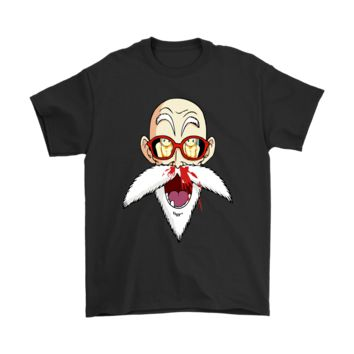ESBV4S Perverted Master Roshi Nose Bleeding Dragon Ball Shirts