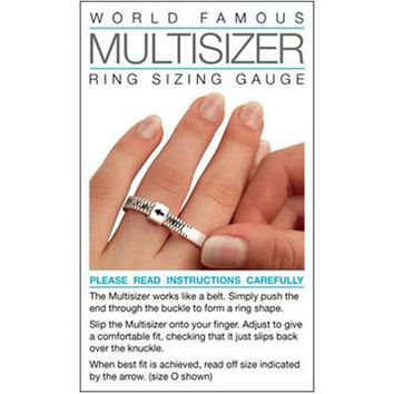 Ring Sizing Gauge