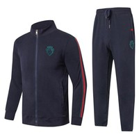 Gucci Fashion Casual Cardigan Jacket Coat Pants Trousers Set Two-Piece-2