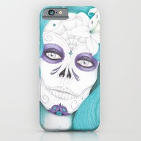 Dia De Los Muertos - Lily iPhone & iPod Case by Drawings By LAM