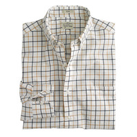J.Crew Mens Slim Secret Wash Shirt In Country Tattersall