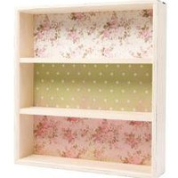 Lined Vintage Style Shelves | Home Accessories | TCH | £49.99 - The Contemporary Home Online Shop