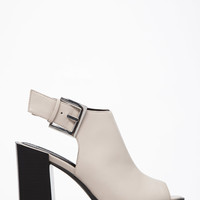 Buckled Block-Heel Sandals