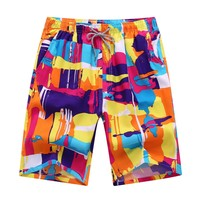 Men Swimming Trunks Beach Shorts Quick Drying Boardshorts