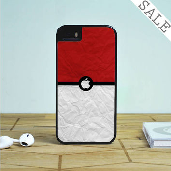 Paper Pokeball Apple For iPhone | Samsung Galaxy | HTC Case