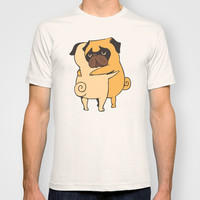 Pug Hugs T-shirt by Huebucket