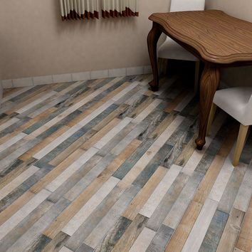 Merola Tile Trend Rustico 12-1/4 in. x 23-5/8 in. Porcelain Floor and Wall Tile (16.6 sq. ft. / case)-FCG17TRR - The Home Depot