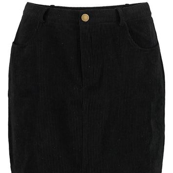 India Chunky Cord Step Hem Mini Skirt | Boohoo