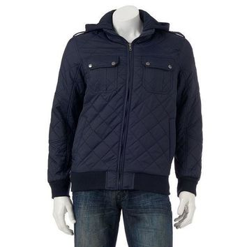Helix Quilted Jacket   Men