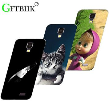 Hot Ultra Thin Back Cover For LG Optimus L65 Dual D285 D280 L70 D325 D320 Protective Case Horse Cat Handsome Tiger Fruits Cases