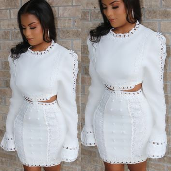 Angelic Embroidered Dress