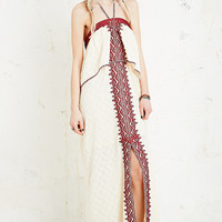 Free People Embroidered Maxi Dress - Urban Outfitters