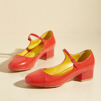 Teacher Feature Heel | Mod Retro Vintage Heels | ModCloth.com