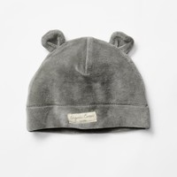 Gap Organic Velour Bear Hat