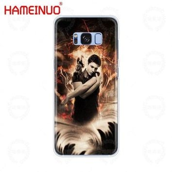 HAMEINUO Supernatural Jensen Ackles Jared Padalecki cell phone case cover for Samsung Galaxy S9 S7 edge PLUS S8 S6 S5 S4 S3 MINI