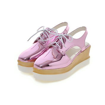 Big Size 11 12 2017 spring and autumn new listing Fashion rare  women's sandals women's shoes woman for women platform shoes