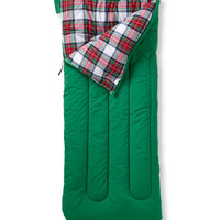 Camp Sleeping Bag, Flannel-Lined 20: Camping | Free Shipping at L.L.Bean