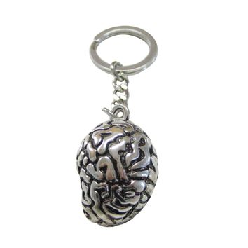 Anatomical Brain Key Chain