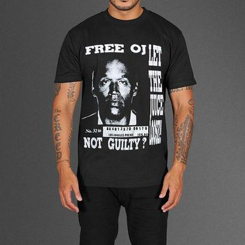 ESBONBX FREE OJ SIMPSON T-SHIRT AS WORN BY KANYE WEST