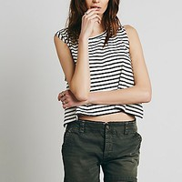 Free People Womens Washed Bermuda Short