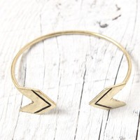 With Love From CA Arrow Bracelet - Womens Jewelry - Gold - One