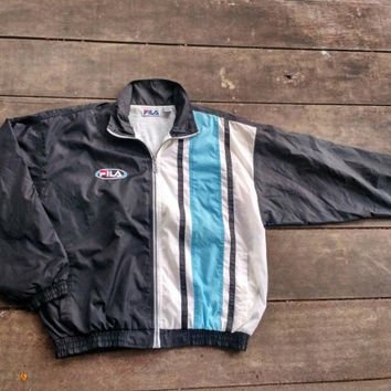 Fila Biella italia windbreaker sports wear casual vintage