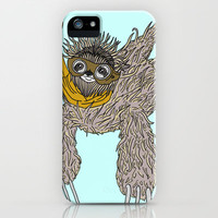 Impulsive Sloth iPhone & iPod Case by Brittany Metz