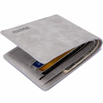 Famous Brand Men Thin Wallets Card Holder