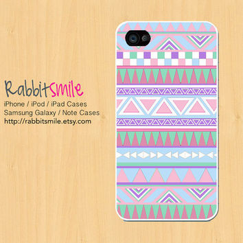 Aztec Pastel iPhone 5 CaseTribal iPhone 4 case by rabbitsmile