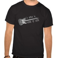 I'd Rather Be Playing My Guitar T-Shirt - Clothing for men, women and children