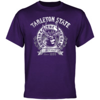 Tarleton State Texans The Big Game T-Shirt - Purple