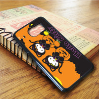 Cartoon Halloween Hello Kitty Samsung Galaxy S6 Edge Case