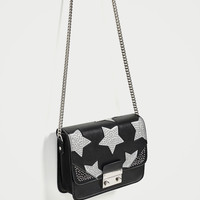 CROSSBODY BAG WITH REFLECTIVE STARS