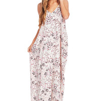 Paisley Pattern Maxi Dress