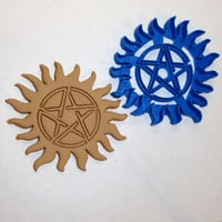 Supernatural Anti Possession Tattoo Cookie Cutter