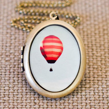 She Dreamt She Could Fly  Photo Locket  Hot by HeartworksByLori