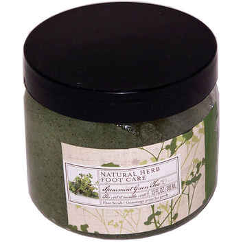 Natural Herb Foot Care Spearmint Green Tea Foot Scrub (Case Pack 6)