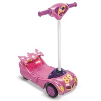 Disney 6-Volt Toddler ATV Battery-Powered Operated 3 Wheel Electric Scooter Tricycle Bike