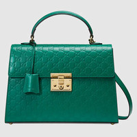Gucci Padlock Gucci Signature top handle