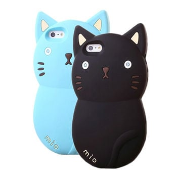 Mio Cute Cat iPhone Case
