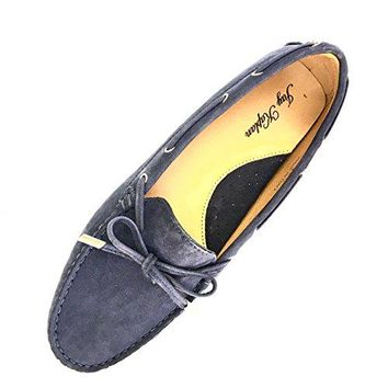 JAY KAPLAN 450 Dollar All Leather Made In Italy Shoes, Womens Driving Loafer Mocasin With Lace, Leslie