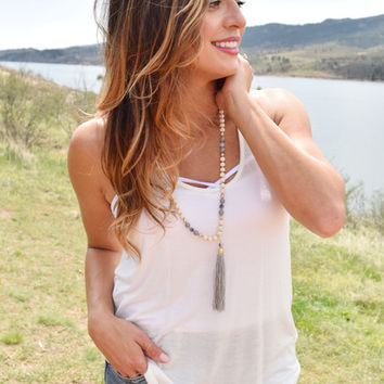 Back Country Tank Ivory
