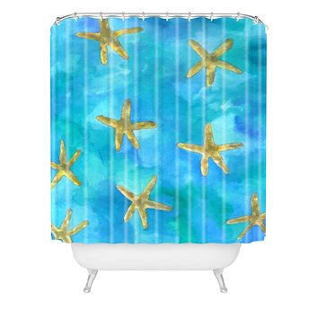 Rosie Brown Wish Upon A Star Shower Curtain