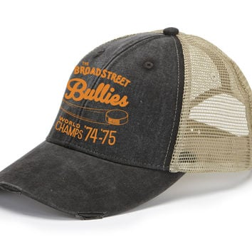 Broad Street Bullies Retro Distressed Mesh Back Hat