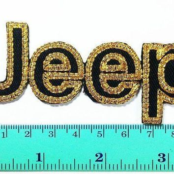 Jeep Racing Patch Motorsport Car Racing Sport Automobile Car Motorsport Racing Logo Patch Sew Iron On Jacket Cap Vest Badge Sign