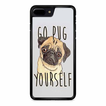 Go Pug Yourself Cute iPhone 8 Plus Case