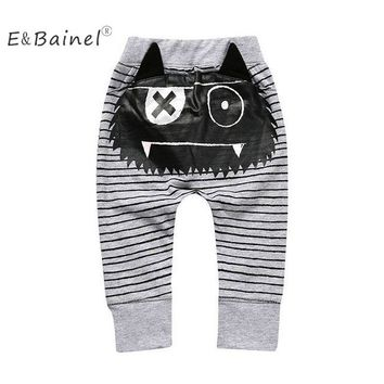 Cute Animal Newborn Baby Boy Girl Pant 0-4Year Infant Long Pants Baby Trouser Bottoms Toddler Kids Clothes Children Overalls