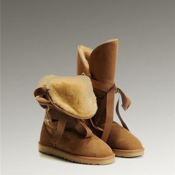 UGG Roxy Tall 5818 Boots Chestnut