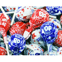Patriotic USA Tootsie Pops: 15-Piece Bag