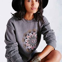 OBEY Eye Mandala Pullover Sweatshirt- Grey